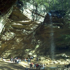 Photo taken at Ash Cave by Phani P. on 1/19/2013