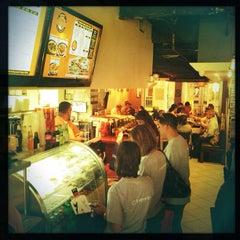Photo taken at Bombay Pizza Co. by Joshua J. on 9/18/2012