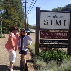 Photo taken at Simi Winery by Monica L. on 5/23/2014