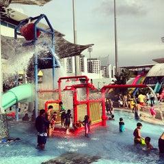 Photo taken at Sengkang Swimming Complex by Sergi V. on 7/20/2013