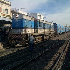 Photo taken at Estación Merlo [Línea Sarmiento] by Marcelo M. on 5/27/2013