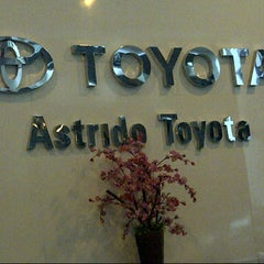 Photo taken at ASTRIDO Authorized Toyota Dealer by Fhidy F. on 10/25/2012