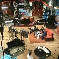 Photo taken at Ocho TV by Héctor P. on 8/10/2015