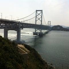 Photo taken at 大鳴門橋 by 猛虎参號 on 3/30/2013