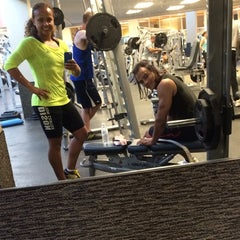 Photo taken at LA Fitness by Thais N. on 5/21/2014