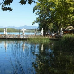 Photo taken at Banys Vells Banyoles by Joan 🔥 P. on 8/29/2015