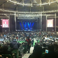 Photo taken at 올림픽체조경기장 (Olympic Gymnastics Arena) by :DongHwan P. on 11/27/2012