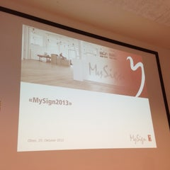 Photo taken at MySign AG by Renato M. on 10/25/2012