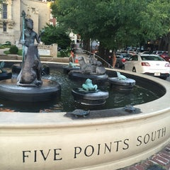 Photo taken at Five Points South by Orpheus R. on 6/5/2015