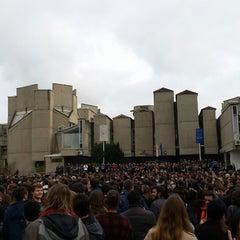 "Photo taken at Универзитет ""Св. Кирил и Методиј"" by Vedran A. on 11/17/2014"