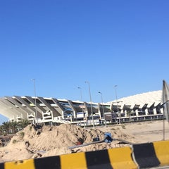 Photo taken at استاد جابر الأحمد الدولي by Mohamed M. on 3/7/2015