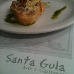 Photo taken at Santa Gula by Ana V. on 12/16/2012