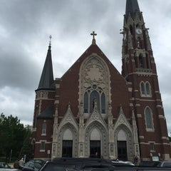 Photo taken at S.S. Peter And Paul Catholic Church by Lorenzo S. on 5/17/2015