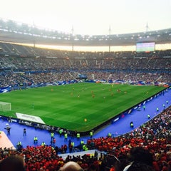 Photo taken at Stade de France by Louis P. on 6/7/2015