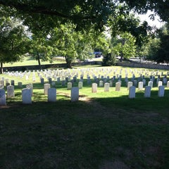 Photo taken at Soldiers' National Cemetery by Rob M. on 7/26/2013