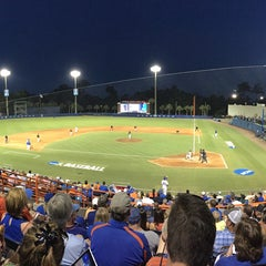 Photo taken at McKethan Stadium at Perry Field by Hyun Ji S. on 6/1/2015
