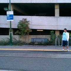 Photo taken at SACRT Light Rail 16th St Station by alison on 11/2/2012