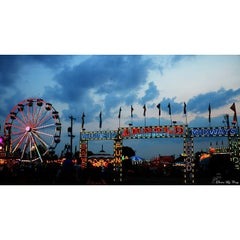 Photo taken at Ionia Fairgrounds by Cory t. on 7/21/2014