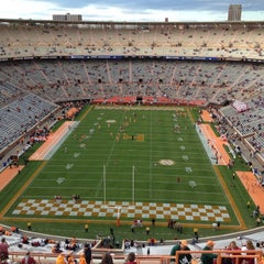 Photo taken at Neyland Stadium by Carrie V. on 10/20/2012