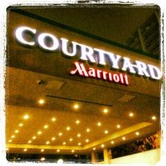 Photo taken at Courtyard Toronto Downtown by Gurjeet S. on 11/1/2012