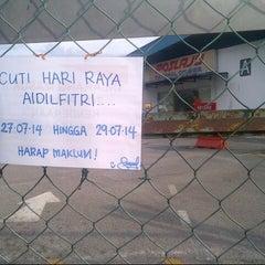 Photo taken at Pos Laju by Amir F. on 7/27/2014