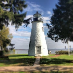 Photo taken at Concord Point and Lighthouse by Shannon K. on 11/5/2012