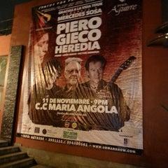 Photo taken at Centro de Convenciones María Angola by Johnny P. on 11/12/2015