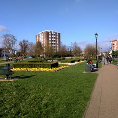 Photo taken at Haven Green by Eric R. on 4/6/2015