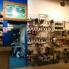 Photo taken at Evans Cycles by Eric R. on 5/19/2014