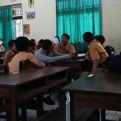 Photo taken at SMPN 3 Denpasar by Vita L. on 3/14/2014
