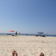 Photo taken at Civic Beach (Point Lookout) by Kenny P. on 8/9/2014