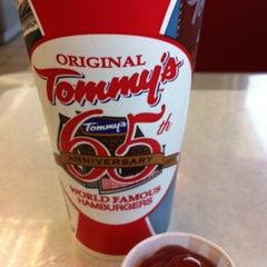 Photo taken at Original Tommy's Hamburgers by Joseph G. on 4/12/2013