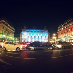 Photo taken at Place de l'Opéra by Menel F. on 11/21/2012
