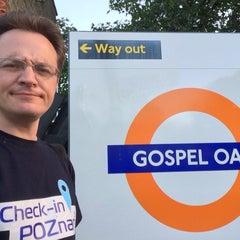 Photo taken at Gospel Oak London Overground Station by Jaroslaw M. on 8/9/2015
