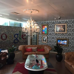 Photo taken at Google UK by Dominic D. on 6/30/2015