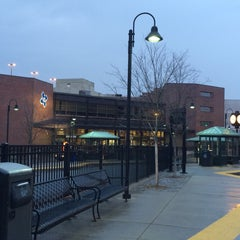 Photo taken at MBTA Lowell Station by Amruta G. on 4/11/2014