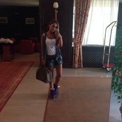 Photo taken at Hotel International by Busu D. on 8/13/2014