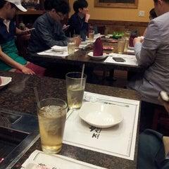 Photo taken at Cho Sun Gal Bi Korean BBQ & Sushi Bar by 현 김. on 4/4/2014