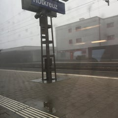 Photo taken at Bahnhof Rotkreuz by Ohm Rapeepon K. on 1/1/2016