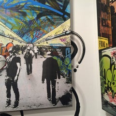 Photo taken at Pop International Galleries by Sara C. on 3/15/2015