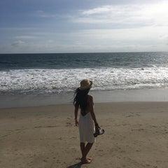 Photo taken at Malibu Beach, CA by Min L. on 10/15/2015