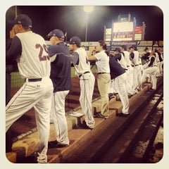 Photo taken at Somerset Patriots Baseball @ TD Bank Ballpark by Sparkee M. on 7/2/2013