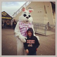 Photo taken at Sunset Stadium by Jennifer N. on 4/19/2014
