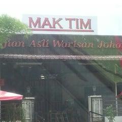 Photo taken at Mak Tim - Sajian Asli Warisan Johor by Meilla-Zea Q. on 3/17/2013