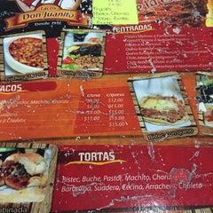 Photo taken at Tacos Don Juanito by Carlos L. on 12/10/2015