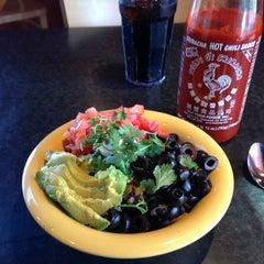 Photo taken at Café Yumm! by Erik M. on 8/2/2013