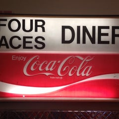 Photo taken at Four Aces Diner by Morris L. on 8/13/2014