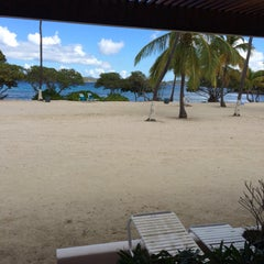 Photo taken at Sapphire Beach Marina & Resort Saint Thomas (Virgin Islands U.S.) by Brian M. on 6/26/2015
