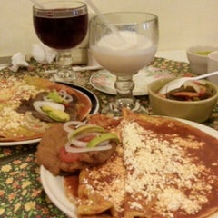 Photo taken at El zacahuil huasteco by Salma K. on 6/6/2015