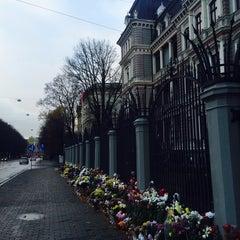 Photo taken at Krievijas vēstniecība   Посольство России by Paulina I. on 11/8/2015